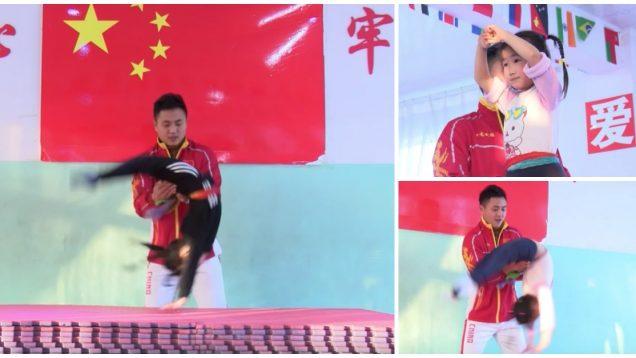 Assim são preparados desde pequenos o futuros ginastas chineses… WTF!