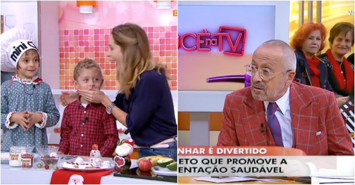 Miúdo de 5 anos cala Manuel Luís Goucha em 2 segundos