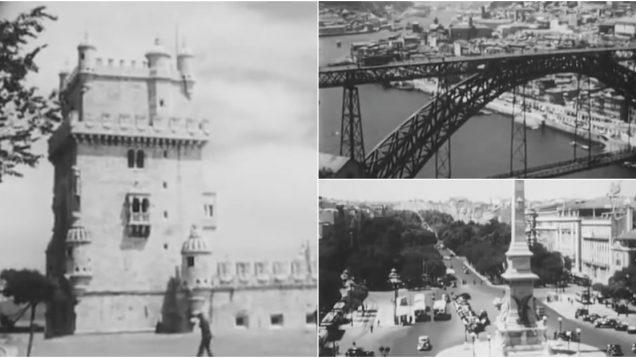 Vídeo mostra como era Portugal em 1950
