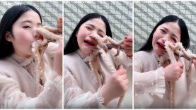 Resultado de imagem para chinesa atacada por polvo